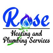 Rose Plumbing and Heating Logo Final