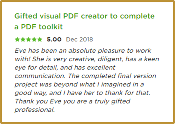 Upwork review 1