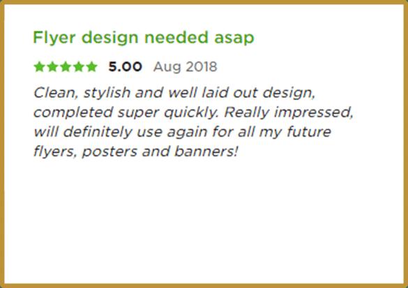 Upwork review 5