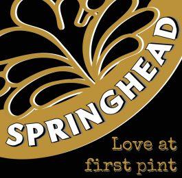 Logo design for Springhead Brewery